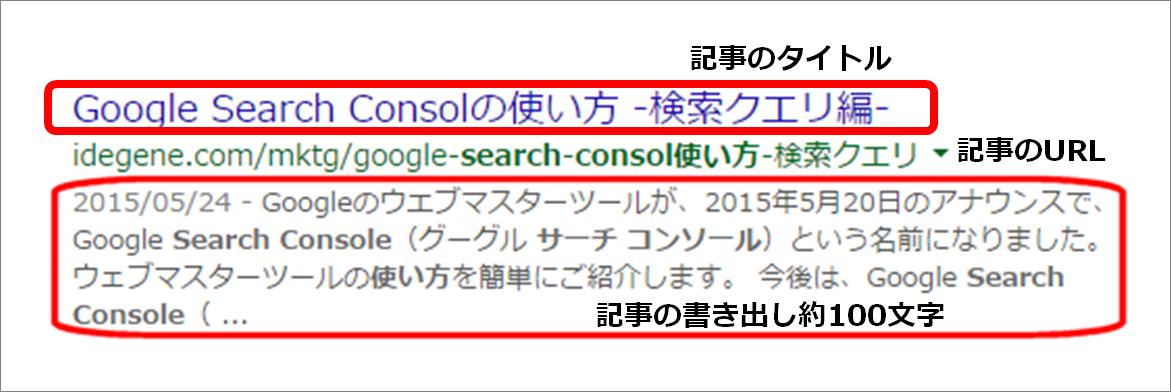 検索結果表示